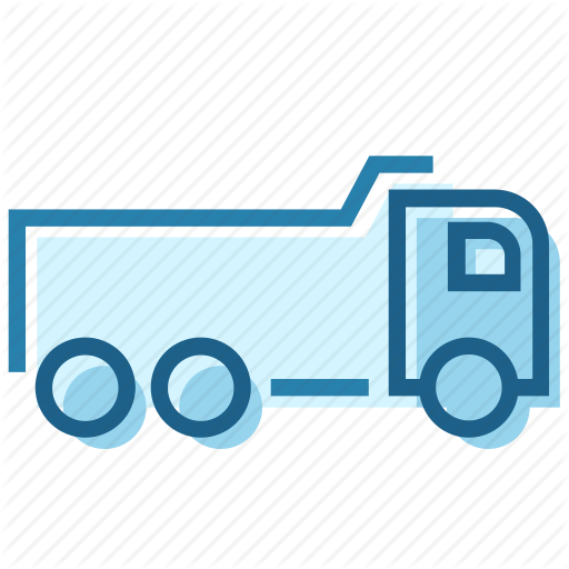 Carrier, Construction, Duty, Heavy, Lorry, Sand, Truck Icon