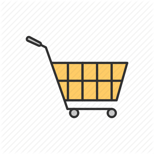Cart, Shopping, Shopping Cart, Yellow Cart Icon