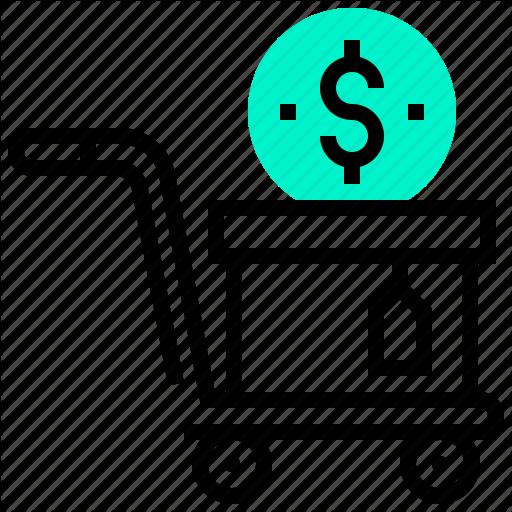 Buy, Cart, Dollar, Money, Shopping Icon