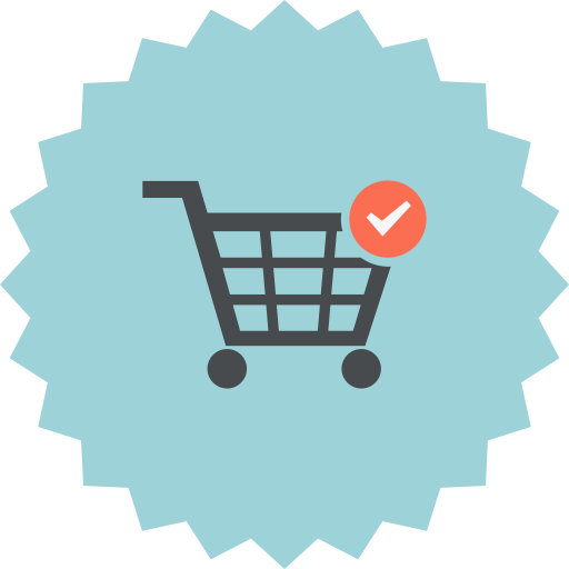Added, Cart, Checked, Ecommerce, Online Shopping, Shopping Cart Icon