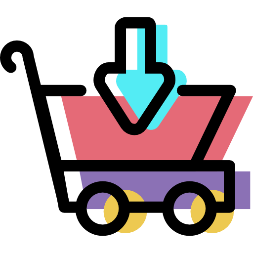 Shopping, Cart, Ecommerce Icon Free Of Color Shopping