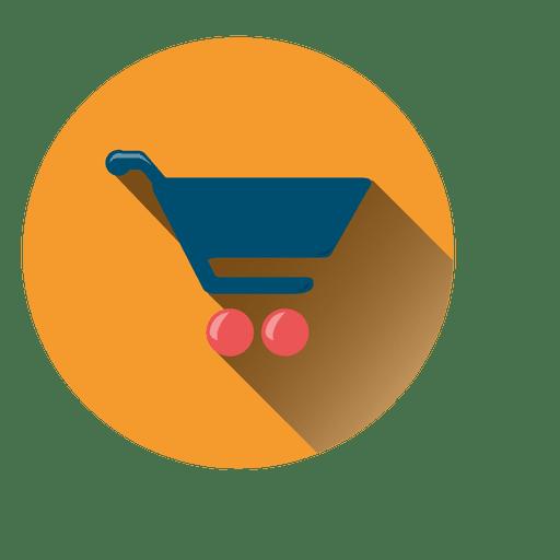 Shopping Cart Round Icon