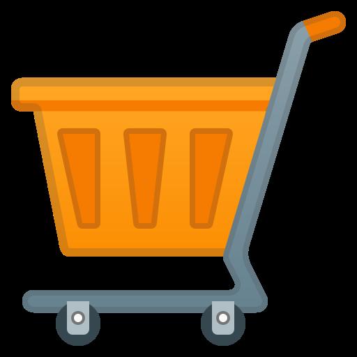Shopping, Cart Icon Free Of Noto Emoji Objects