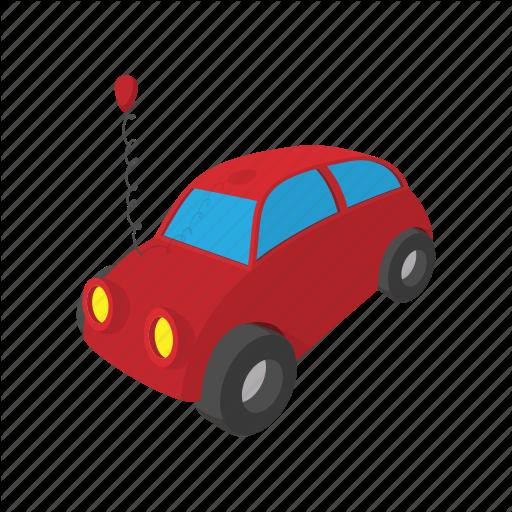 Automobile, Car, Cartoon, Speed, Toy, Transport, Vehicle Icon