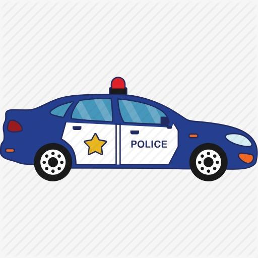 Blue Police Car Png Transparent Blue Police Car Images