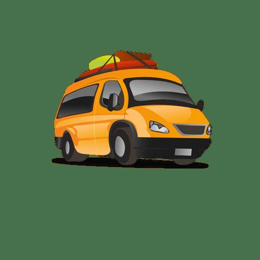 Taxi Cartoon Icon