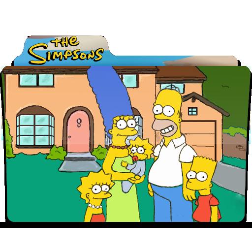 Simpsons Folder Icon Simpsons Folder Iconset Quaffleeye