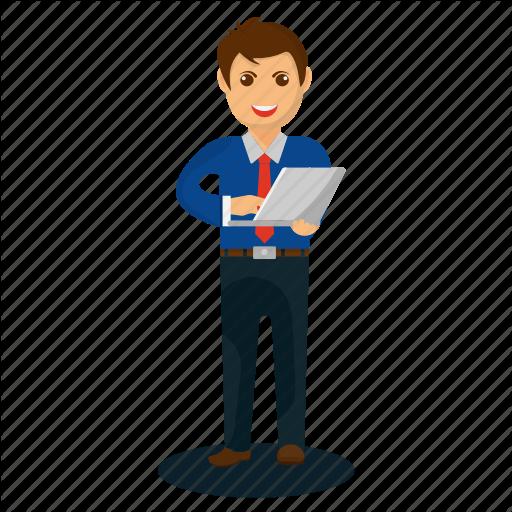 Business Professional, Businessman Mascot, Cartoon Character