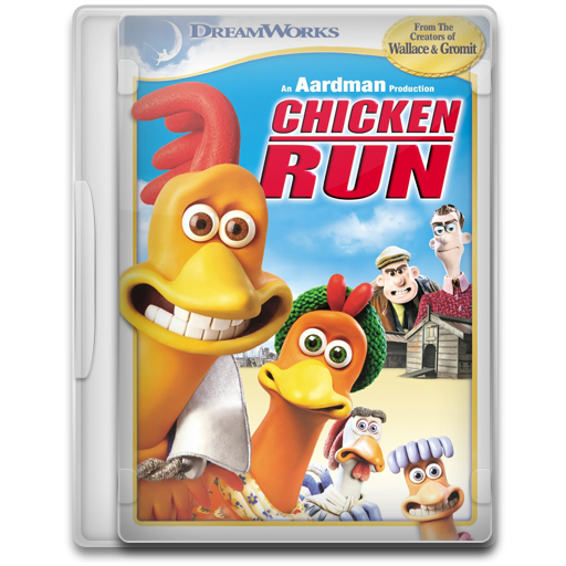 Chicken Run Icon Movie Mega Pack Iconset