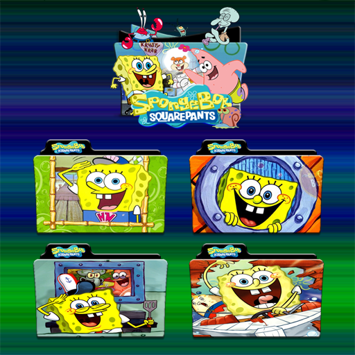 Spongebob Squarepants Folder Icon Pack