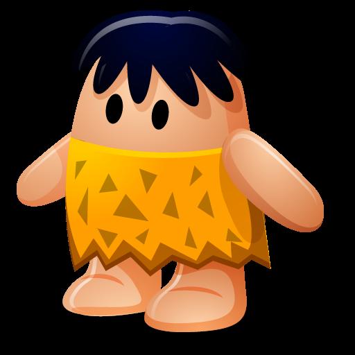 Caveman, Cartoon Icon