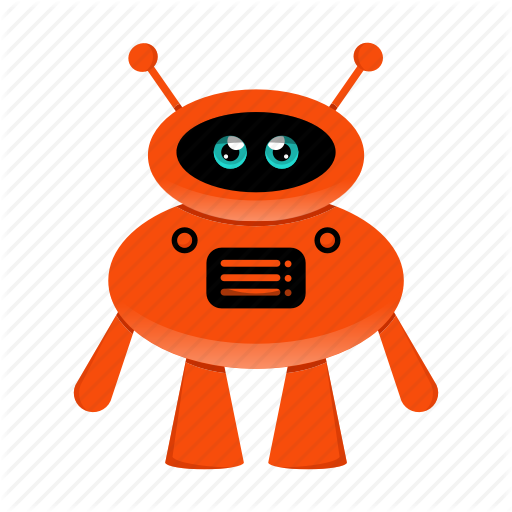 Artificial Intelligence, Character, Robot, Robot Cartoon Icon