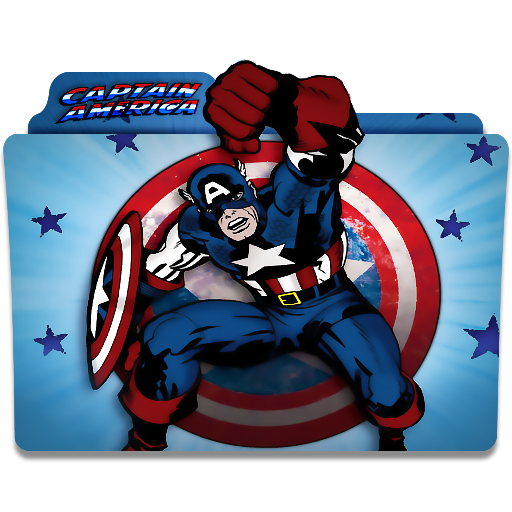 Captain America Icon Cartoon Icons, Cartoon, Captain America