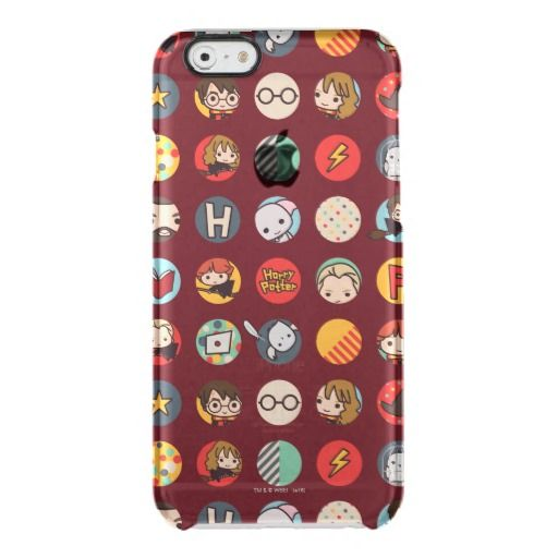 Harry Potter Cartoon Icons Pattern Uncommon Iphone Case Xmas