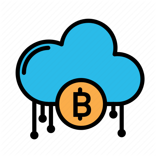 Blockchain, Cloud, Currency, Finance, Network Icon