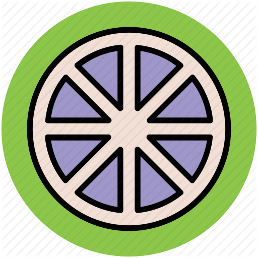 Caravan Wheel, Cartwheel, Spoke, Wagon Wheel, Wheel Icon