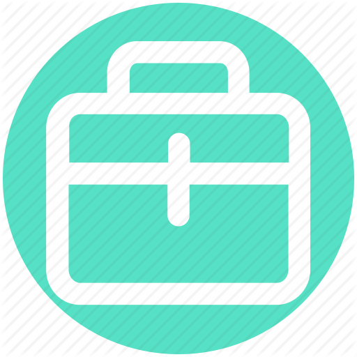 Bag, Brief Case, Case, Hand Bag, School Bag, Suit Case Icon