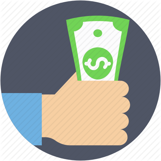 Cash, Cash In Hand, Currency, Currency Notes, Dollar Note Icon