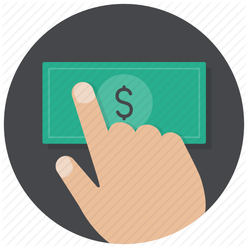 Hand, Money, Payment, Buy, Pay, Dollar, Cash Icon