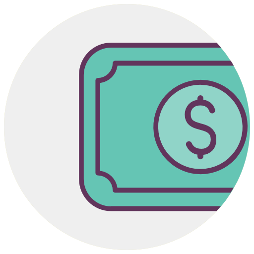 Payment, Ticket, Dollar, Money, Cash Icon Free Of Shop
