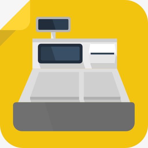 A Supermarket Cash Register, Supermarket Clipart, Cash Clipart