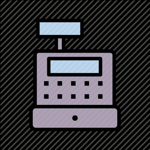 Cash, Cash Register, Finance, Register Icon
