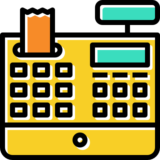 Commerce, Buy, Cash Register, Purchase, Shopping Store, Payment Icon