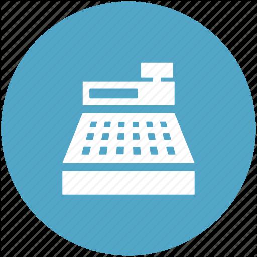 Cash Register, Cashier, Pos, Register Machine, Till Machine Icon