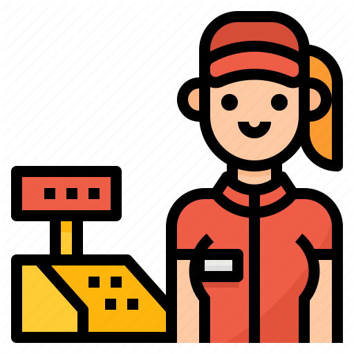 Cashier, Fast, Food, Order Icon