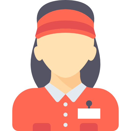 Supermarket, People, Woman, Job, Occupation, Avatar, Profession