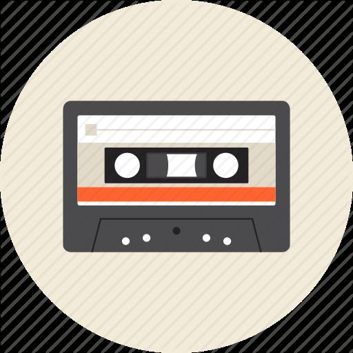 Analog, Audio, Cassette, Hifi, Retro, Tape Icon