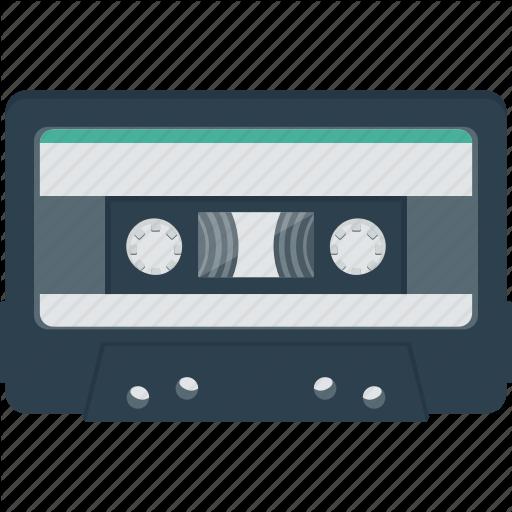 Audio, Cassette, Cassette Tape, Listen, Music, Retro, Tape Icon
