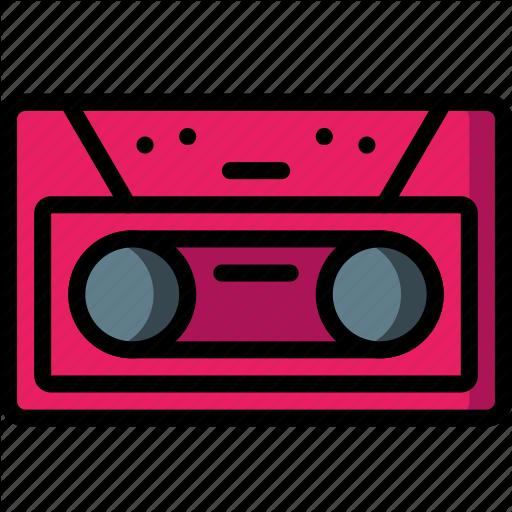 Cassette, Deck, Music, Retro, Tape, Tech Icon