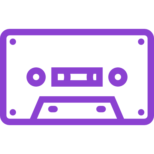 Cassette, Tape, Musical, Instrument Icon Free Of Musical