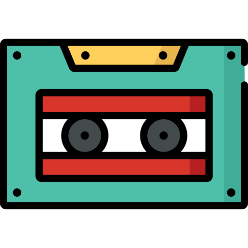 Cassette Icons, Download Free Png And Vector Icons, Unlimited