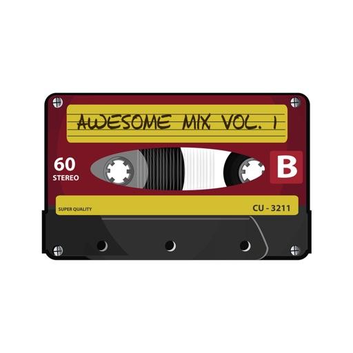 Cassette Tape Stickers