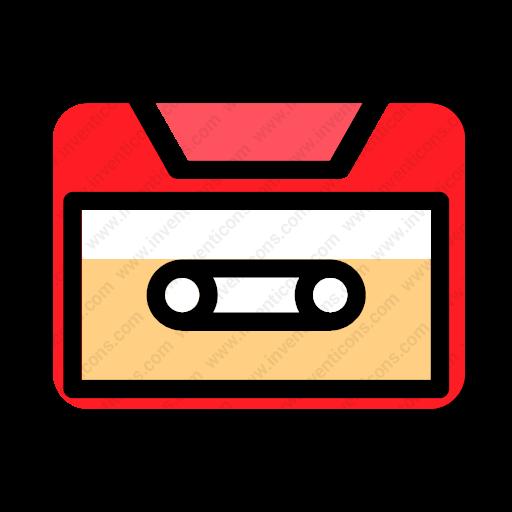 Download Tape Icon Inventicons