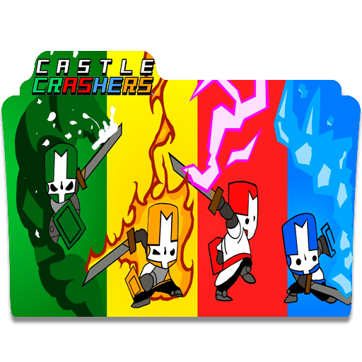 Castle Crashers Folder Icon