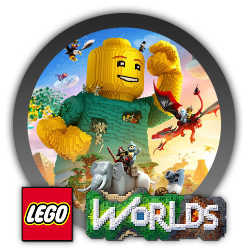Lego Worlds Icon Game And Program Icons World Icon