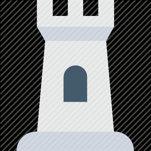 Castle, Castle Tower, Fortress, Medieval, Sand Castle Icon