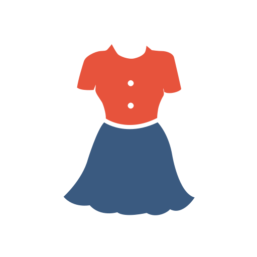 Frock Icon Free Of Clothing Icons Colored