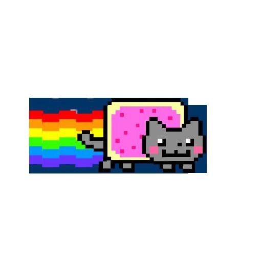 Download Free Nyan Cat Png Image Icon Favicon Freepngimg