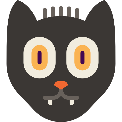 Black Cat Cat Png Icon