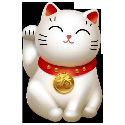 Cat Icon Maneki Neko Iconset Icojoy