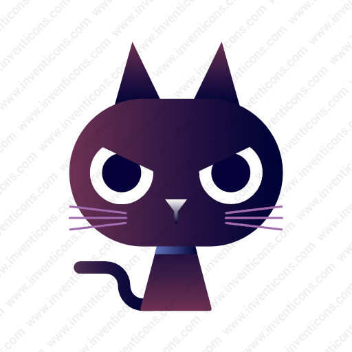 Download Black,cat Icon Inventicons