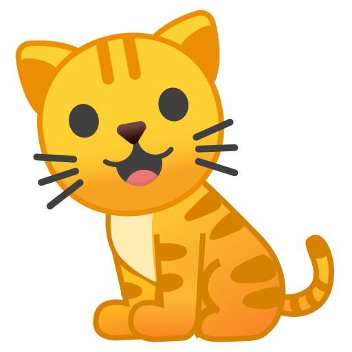 Cat Icon Noto Emoji Animals Nature Iconset Google