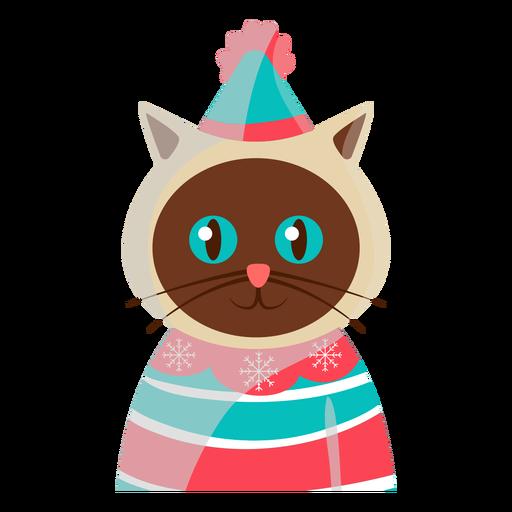 Festive Cat Icon