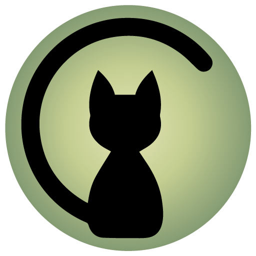 Cropped Cat Icon Caturday