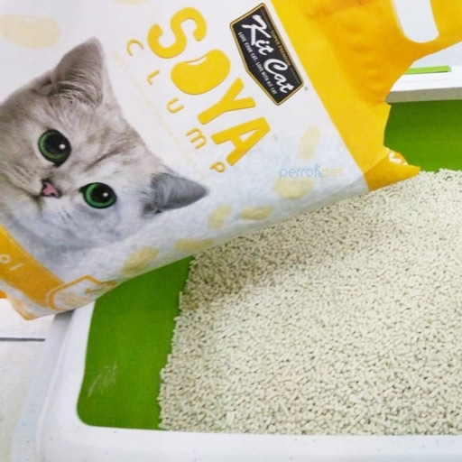 Kit Cat Soya Clumping Cat Litter Made From Soybean Waste