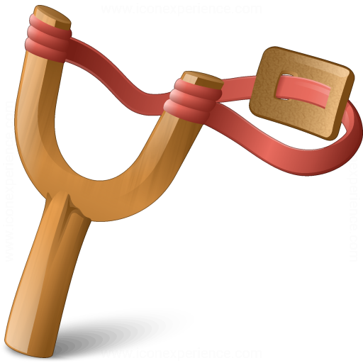 Iconexperience V Collection Slingshot Icon